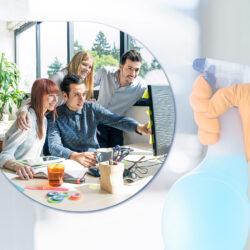 Как чистият офис повишава продуктивността на служителите?
